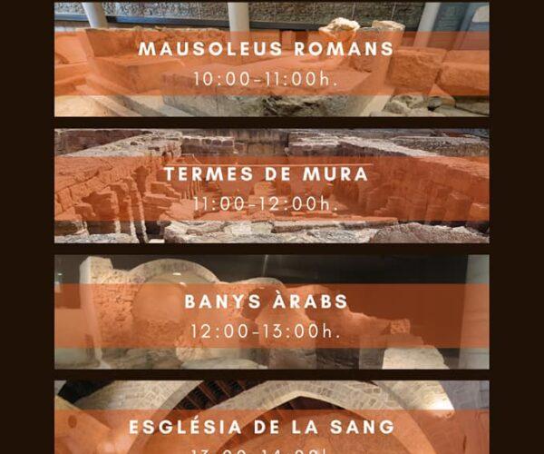 Nou horari d'obertura de monuments