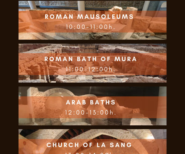 New opening hours of monuments
