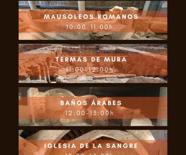 Nuevo horario de apertura de monumentos